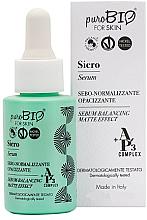 Parfémy, Parfumerie, kosmetika Sérum na obličej -PuroBio Cosmetics Serum - Balancing Matte Effect