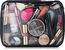 Parfémy, Parfumerie, kosmetika Transparentní kosmetická taštička Visible Bag bez kosmetických prostředků 25x18x8cm - MakeUp