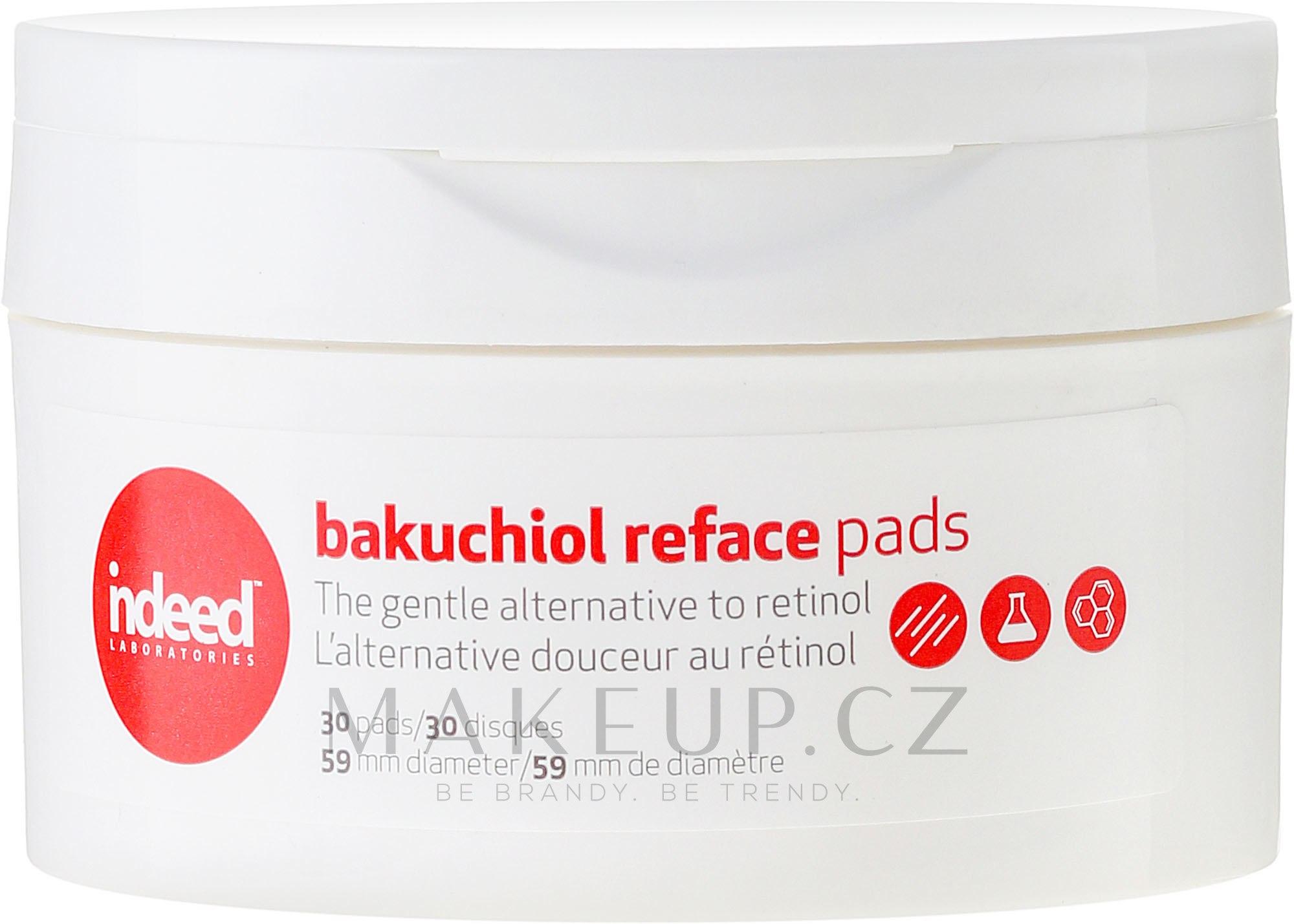 Kosmetické houby na obličej - Indeed Bakuchiol Reface Pads ...