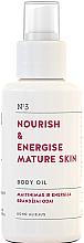 Parfémy, Parfumerie, kosmetika Vyživující tělový olej pro zralou pokožku - You & Oil Nourish & Energise Body Oil