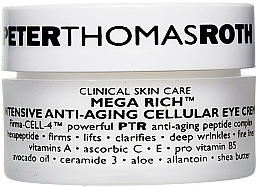 Parfémy, Parfumerie, kosmetika Anti-age krém na oční víčka - Peter Thomas Roth Mega-Rich Intensive Anti-Aging Cellular Eye Cream