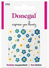 Parfémy, Parfumerie, kosmetika Nálepky na nehty, 3702 - Donegal
