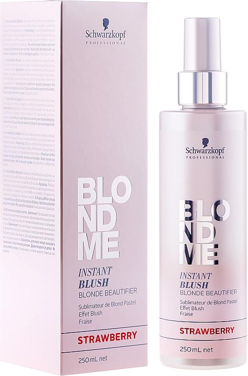Tónovací sprej - Schwarzkopf Professional BlondMe Instant Blush Spray