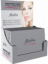 Parfémy, Parfumerie, kosmetika Sada matujících ubrousků s pudrem na obličej, 4ks+1 - Marion Mat Express