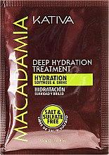 Parfémy, Parfumerie, kosmetika Intenzivně hydratační maska pro normální a poškozené vlasy - Kativa Macadamia Deep Hydrating Treatment