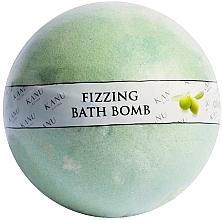 Parfémy, Parfumerie, kosmetika Bombička do koupele Olivovník - Kanu Nature Fizzing Bath Bomb Olive Tree
