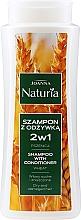 Parfémy, Parfumerie, kosmetika Šampon s kondicionérem s pšenicí na suché a zabarvené vlasy - Joanna Naturia Shampoo With Conditioner With Wheat