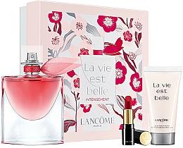 Parfémy, Parfumerie, kosmetika Lancome - Sada (edp/50ml +b/lot/50ml + lip/3,4g)