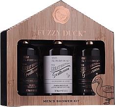 Parfémy, Parfumerie, kosmetika Sada - Baylis & Harding Men's Fuzzy Duck Ginger & Lime Lixury Grooming Gift Set (ash/balm/300ml+shm/300ml+sh/gel/300ml)