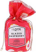 "Parfémy, Parfumerie, kosmetika Vonná svíčka ""Glazed Raspberry"" - I Love Glazed Raspberry Scented Candle"