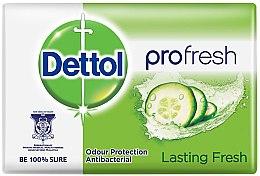 "Parfémy, Parfumerie, kosmetika Antibakteriální mýdlo ""Dlouhá svěžest"" - Dettol Anti-bacterial Lasting Fresh Soap"