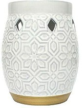 Parfémy, Parfumerie, kosmetika Arolampa - Yankee Candle Wax Burner Addison Patterned Ceramic