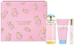Parfémy, Parfumerie, kosmetika Prada Candy Sugar Pop - Sada (edp 80 ml + edp 10 ml + b/lot 75 ml)