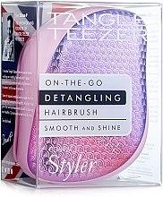 Parfémy, Parfumerie, kosmetika Kompaktní kartáč na vlasy - Tangle Teezer Compact Styler Sunset Pink