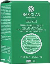 Parfémy, Parfumerie, kosmetika Sérum pro pleť s nedokonalostmi s niacinamidem 5%, prebiotikem 5% a filtrátem z rýžové vody - BasicLab Dermocosmetics Esteticus