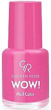 Parfémy, Parfumerie, kosmetika Lak na nehty - Golden Rose Wow Nail Color