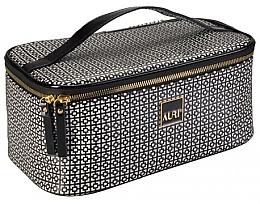 Parfémy, Parfumerie, kosmetika Kosmetická taštička 18x27x12 cm - Auri Simple Black & White