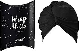 Parfémy, Parfumerie, kosmetika Kosmetická čelenka Turban, černá - Anwen Wrap It Up Turban