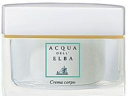 Parfémy, Parfumerie, kosmetika Acqua Dell Elba Blu - Tělový krém s kyselinou hyaluronovou