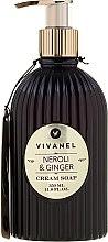 Parfémy, Parfumerie, kosmetika Vivian Gray Vivanel Neroli & Ginger - Krémové tekuté mýdlo