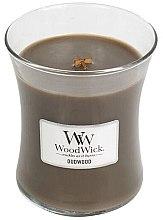 Parfémy, Parfumerie, kosmetika Vonná svíčka ve sklenici - WoodWick Hourglass Candle Oudwood