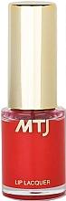 Parfémy, Parfumerie, kosmetika Lak na rty - MTJ Cosmetics Liquid Lip Lacquer Effect 6H
