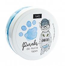 Parfémy, Parfumerie, kosmetika Čisticí pěna na tělo, ruce a vlasy, modrá - LaQ Cleansing Foam