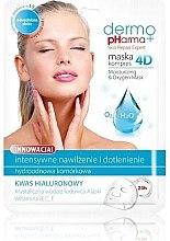 Parfémy, Parfumerie, kosmetika Maska na obličej - Dermo Pharma Skin Repair Expert Skin Lightening Face Mask 4D