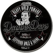Parfémy, Parfumerie, kosmetika Vosková rtěnka na úpravu vlasů - Dapper Dan Heavy Hold Pomade