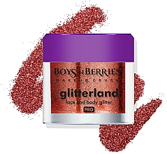 Parfémy, Parfumerie, kosmetika Třpytky na obličej a tělo - Boys'n Berries Glitterland Face and Body Glitter