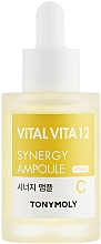 Parfémy, Parfumerie, kosmetika Synergetická ampulová esence s vitamínem C - Tony Moly Vital Vita 12 Synergy Ampoule