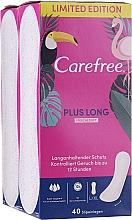 Parfémy, Parfumerie, kosmetika Hygienické slipové vložky 2x40 ks - Carefree Plus Long
