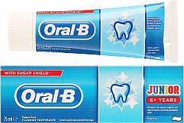 Parfémy, Parfumerie, kosmetika Dětská zubní pasta - Oral-B Junior Toothpaste