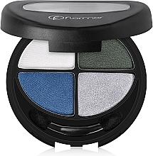 Parfémy, Parfumerie, kosmetika Oční stíny - Flormar Compact Quartet Eye Shadow