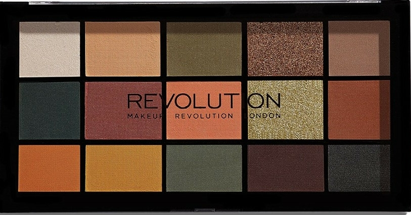 Paleta očních stínů - Makeup Revolution Division Re-loaded Palette