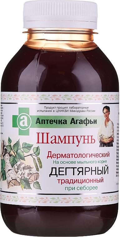 Dehtový šampon - Recepty babičky Agafyy Lékárnička Agafyy