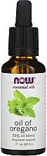 Parfémy, Parfumerie, kosmetika Esenciální olej 25% Směs oleje z oregana - Now Foods Essential Oils Oil of Oregano Blend