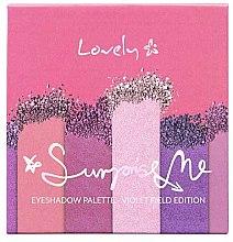 Parfémy, Parfumerie, kosmetika Paleta stínů - Lovely Surprise Me Eyeshadow Palette Violet Field Edition