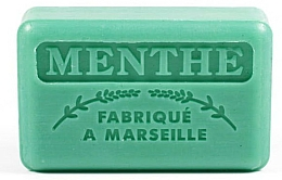 "Parfémy, Parfumerie, kosmetika Marseilleské mýdlo ""Máta"" - Foufour Savonnette Marseillaise Menthe"