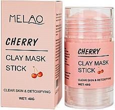 """Parfémy, Parfumerie, kosmetika Maska na obličej """"Cherry"""" - Melao Cherry Clay Mask Stick"""