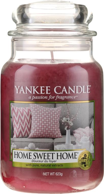 """Aromatická svíčka """"Domácí sladký domov"""" - Yankee Candle Home Sweet Home"""