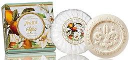 Parfémy, Parfumerie, kosmetika Mýdlo přírodní Ovoce a lilie - Saponificio Artigianale Fiorentino Fruits&Lily Soap