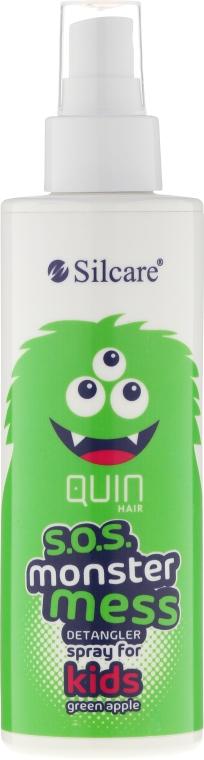 Sprej na rozčesání vlasů - Silcare Quin S.O.S. Monster Mess Kids Hair Spray