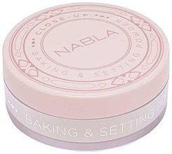 Parfémy, Parfumerie, kosmetika Sypký pudr - Nabla Close-Up Baking Setting Powder