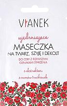 Parfémy, Parfumerie, kosmetika Zpevňující maska proti vráskám na obličej, krk a dekolt - Vianek