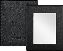 Parfémy, Parfumerie, kosmetika Skládací kapesní zrcadlo, černé - MakeUp Pocket Mirror Black