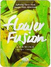 Parfémy, Parfumerie, kosmetika Změkčující látková pleťová maska s jasmínem - Origins Flower Fusion Jasmine Softening Sheet Mask