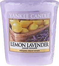 """Aromatická svíčka """"Citron a levandule"""" - Yankee Candle Scented Votive Lemon Lavender — foto N1"""