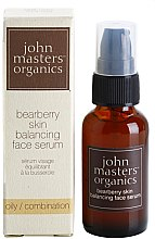 Parfémy, Parfumerie, kosmetika Sérum pro mastnou pokožku pleti - John Masters Organics Bearberry Oily Skin Balancing Face Serum