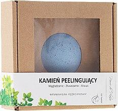 Parfémy, Parfumerie, kosmetika Přírodní kámen pro peeling obličeje, světle modrý - Pierre de Plaisir Natural Scrubbing Stone Face